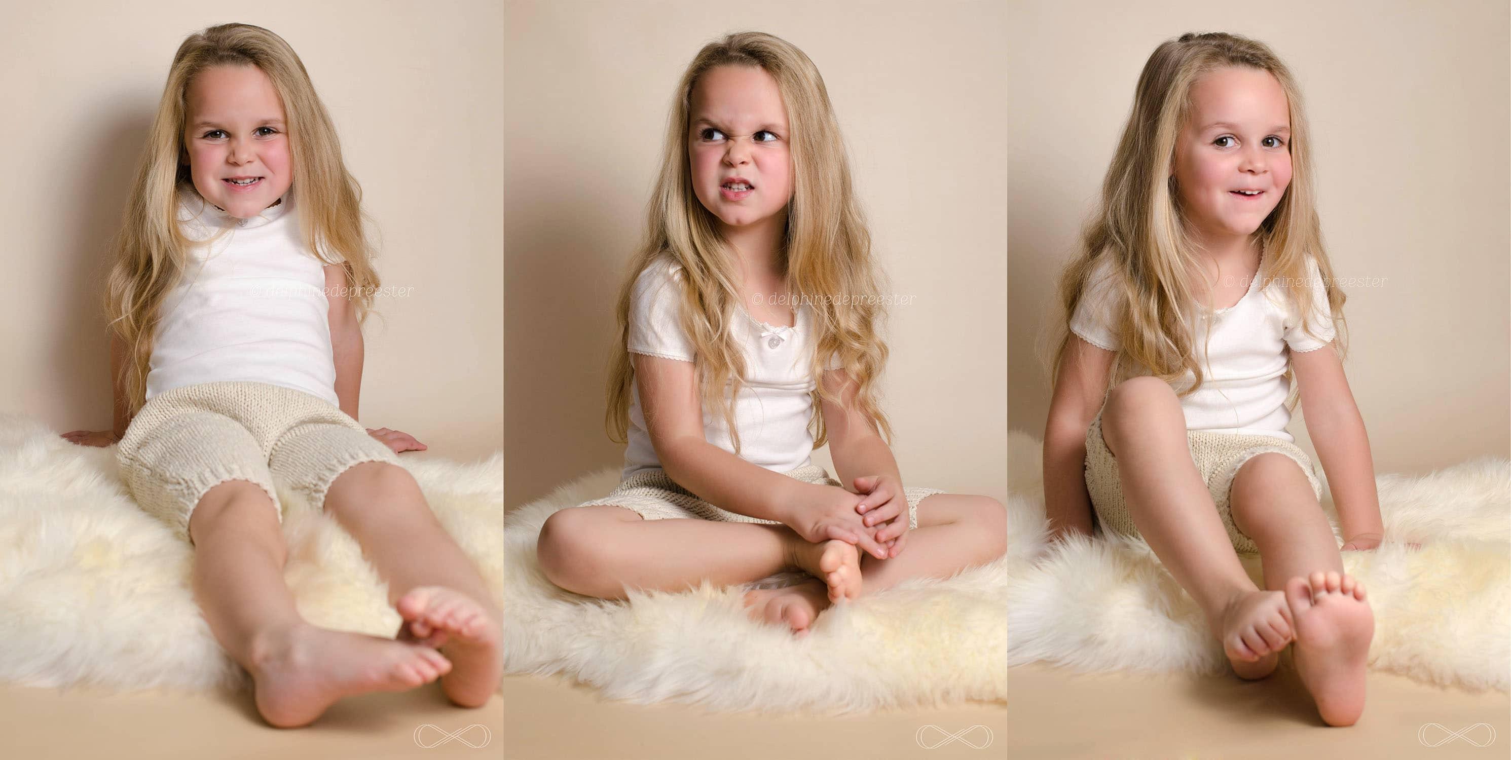 photos enfants en studio