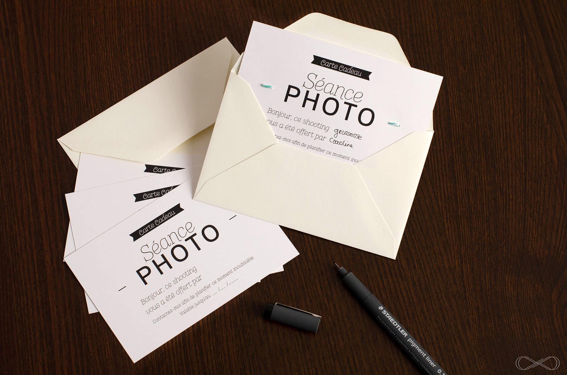 carte cadeau photographe paris