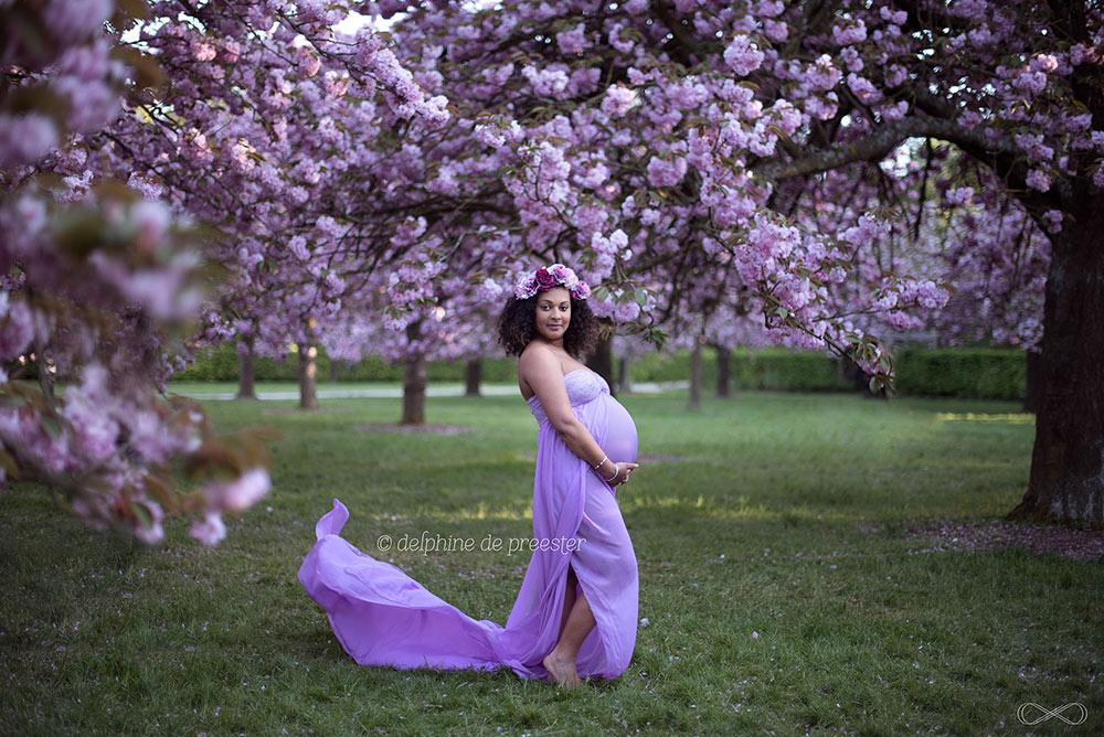 photos de grossesse au parc de sceaux