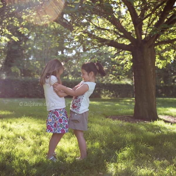 Photographe enfant - Lila & Capucine | Sceaux (92)