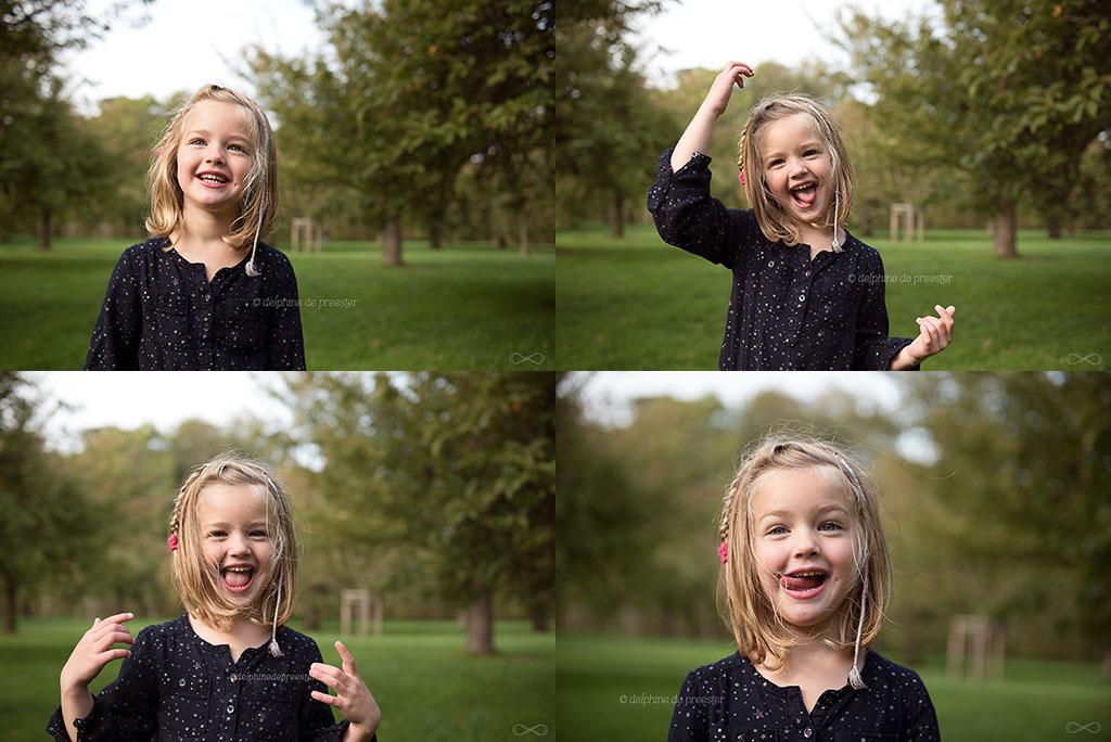 photos d'enfant qui fait des grimaces