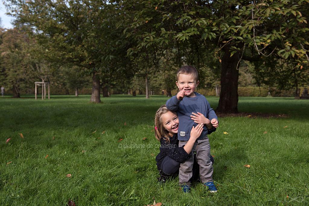 photos d'enfants dans un parc
