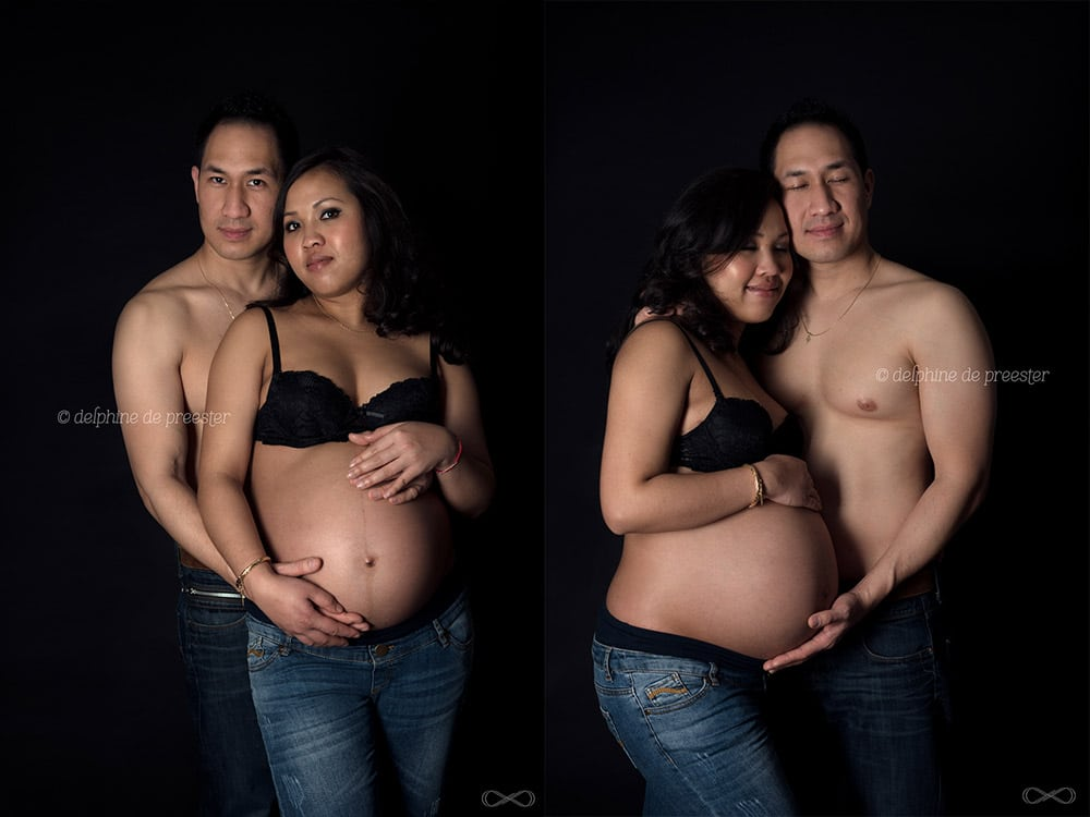 photographe grossesse en couple