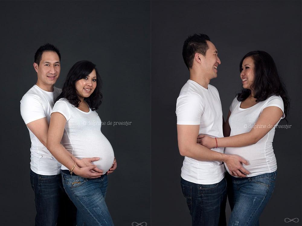 photos femme enceinte en studio