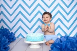 bébé fête son 1er anniversaire
