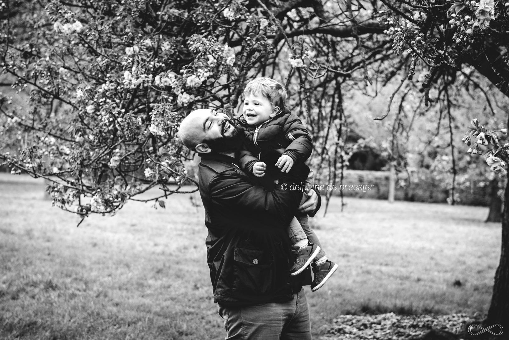 un moment entre un père et son fils