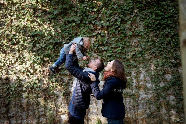 séance photo famille dans la forêt de sénart essonne 91