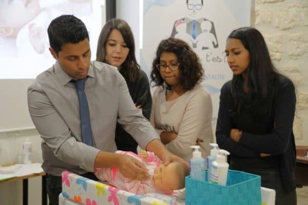 soins de bébé