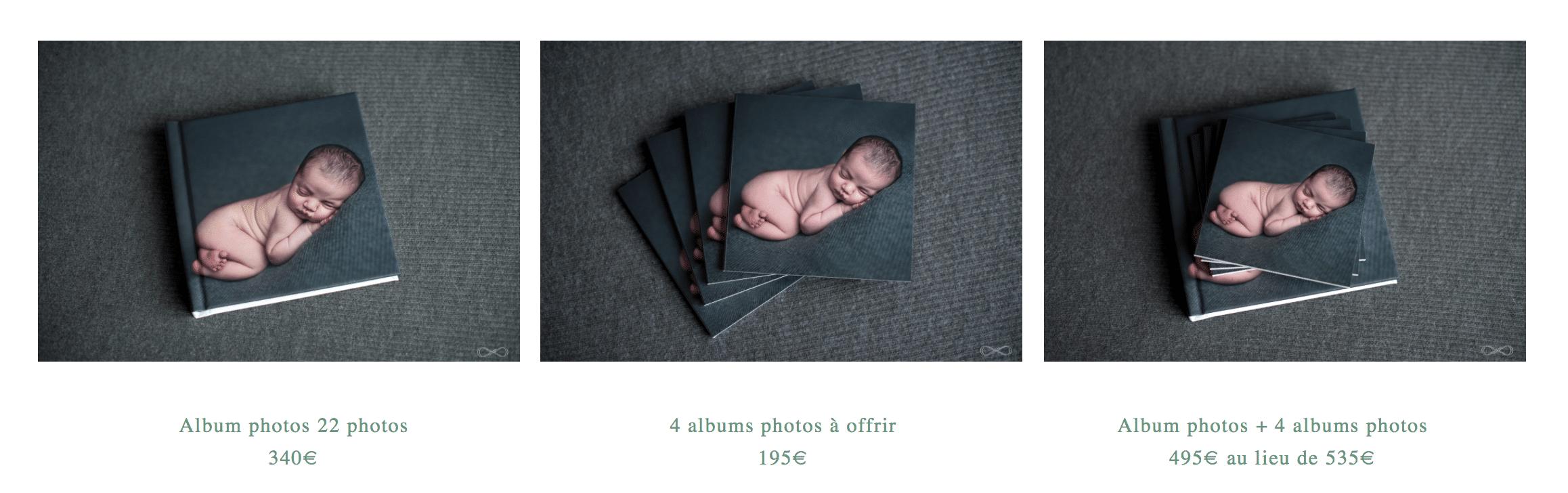 tarifs séance grossesse et nouveau-né