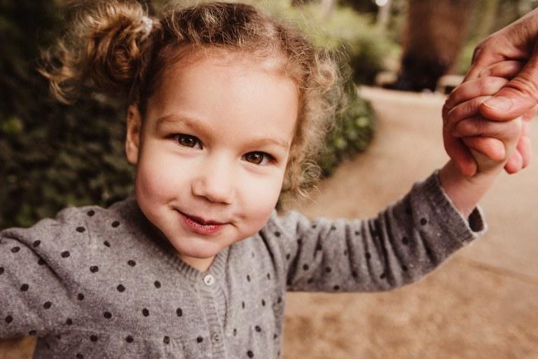 photo d'enfant en extérieur